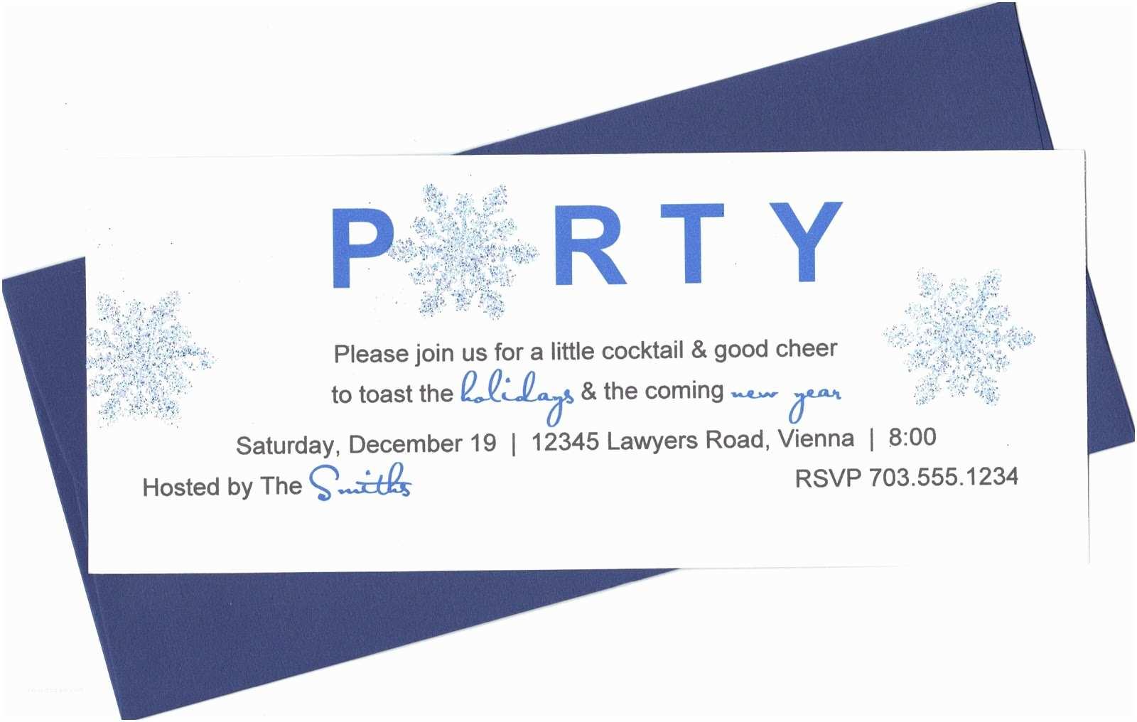 Office Party Invitation Fice Party Invitation Wording