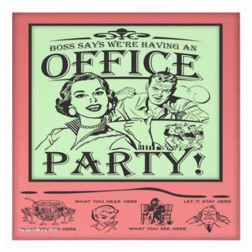 Office Party Invitation Funny Fice Party Invitation