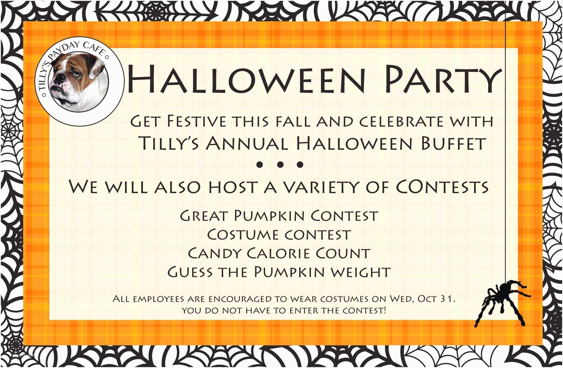 Office Party Invitation Wording Halloween Fice Party Invitation – Festival Collections