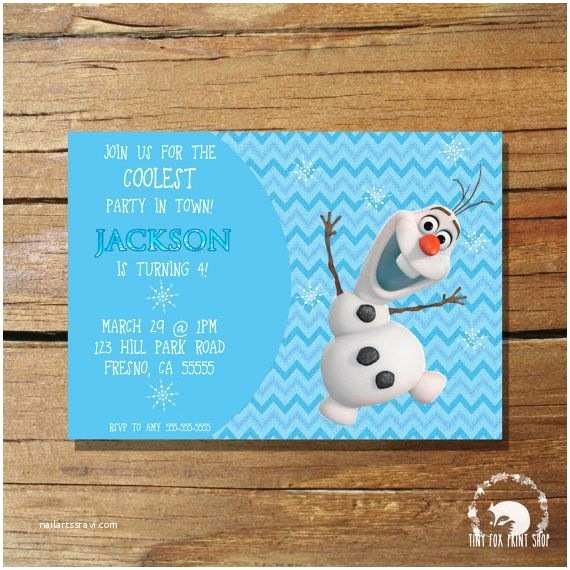 Olaf Birthday Invitations 201 Best Images About Frozen themed Party On Pinterest