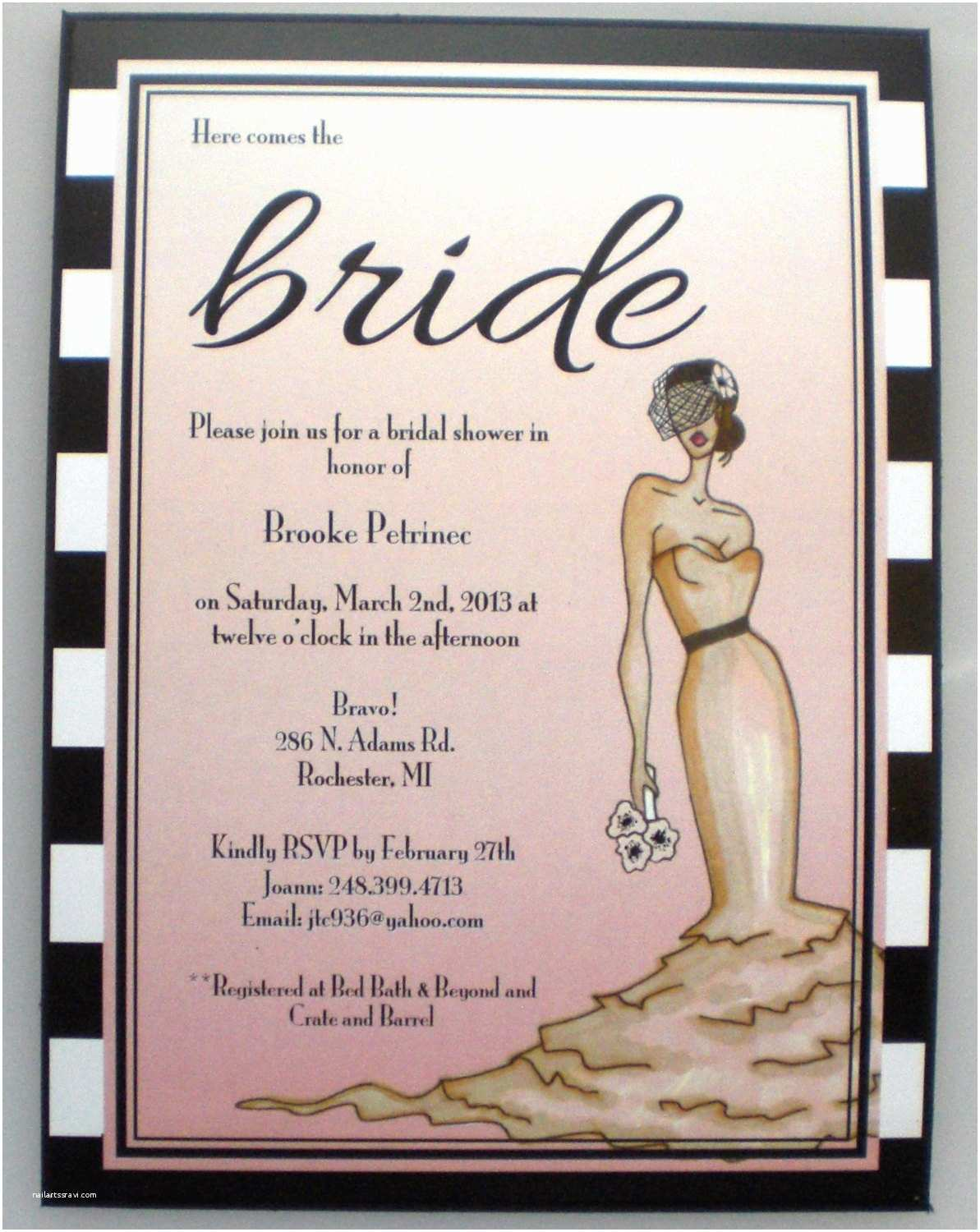 Old Hollywood themed Wedding Invitations Items Similar to Old Hollywood Pink Bridal Shower