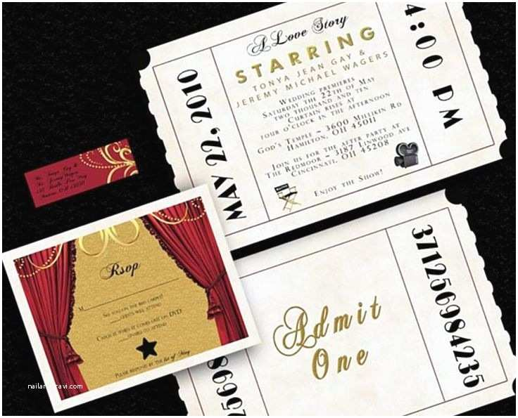 Old Hollywood themed Wedding Invitations Old Hollywood Hollywood Glamour Wedding Invitation Ideas