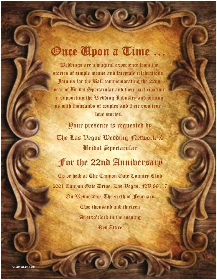 Once Upon A Time Wedding Invitations Ce Upon A Time Wording for Wedding Invatations