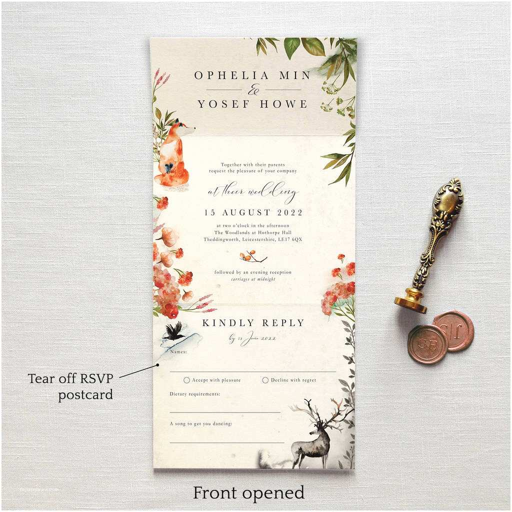 Once Upon A Time Wedding Invitations once Upon A Time Wedding Invitation by Feel Good Wedding