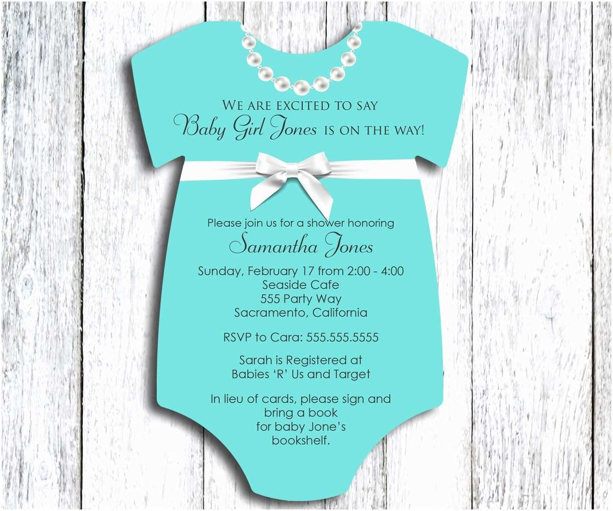 Onesie Baby Shower Invitation Baby Shower Invitation Esie