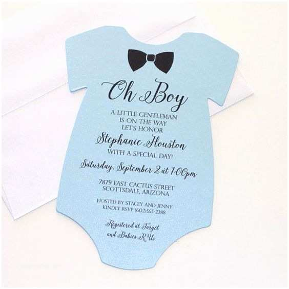 Onesie Baby Shower Invitation Baby Showers Light and Envelopes On Pinterest