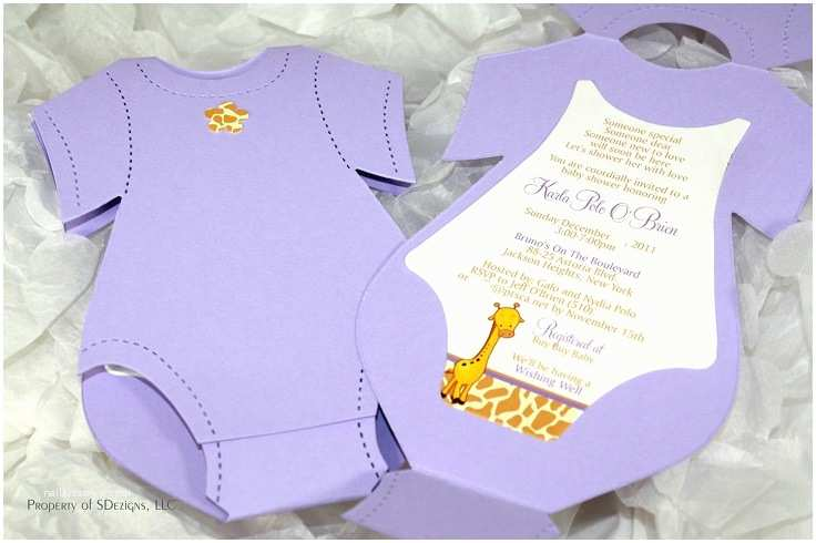 Onesie Baby Shower Invitation top 10 Creative Diy Baby Shower Invitation Ideas