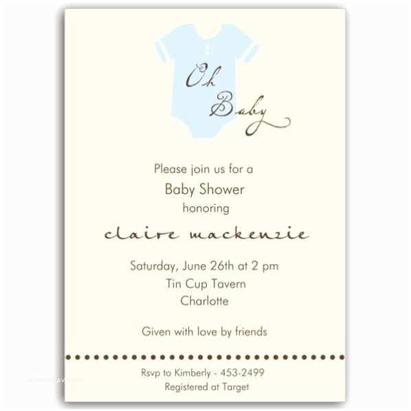 Onesie Baby Shower Invitations Esie Blue Baby Shower Invitations