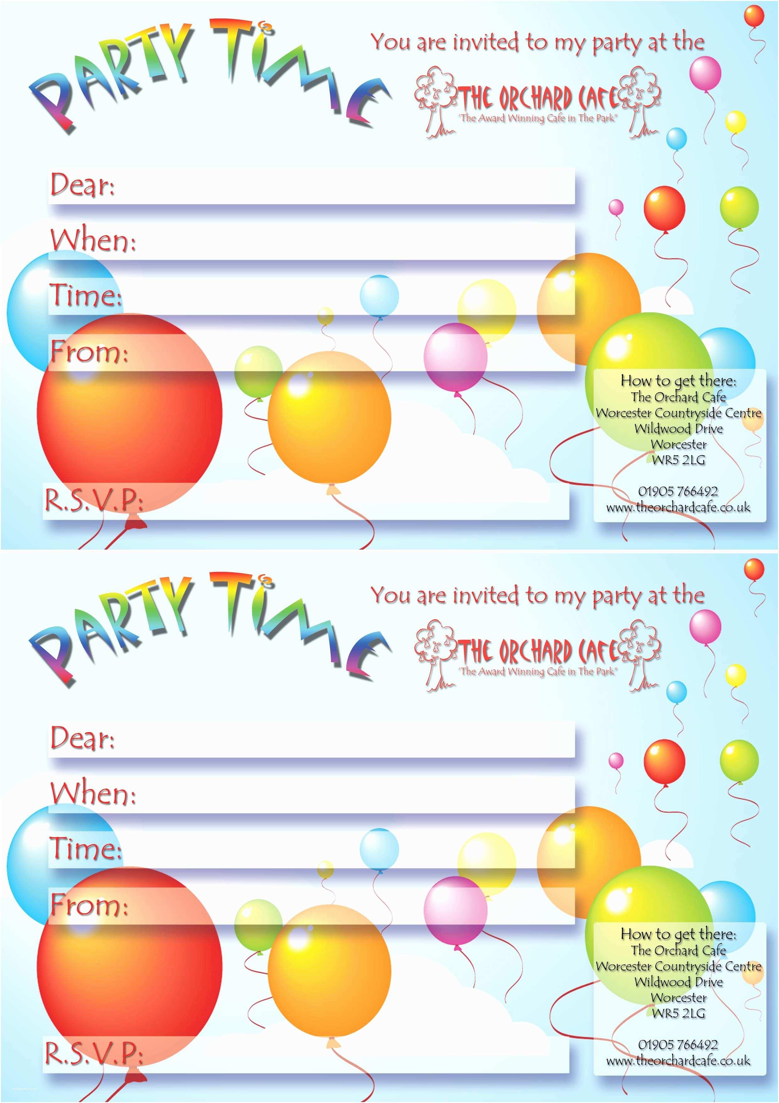 Online Birthday Invitations Line Party Invitations