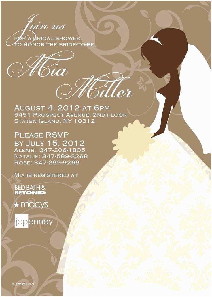 Online Bridal Shower Invitations Bridal Shower Invite Templates Free