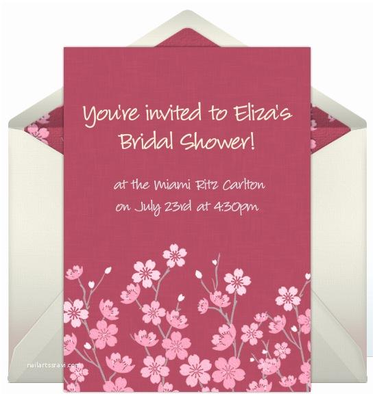 Online Bridal Shower Invitations Free Line Invitations for Bridal Showers