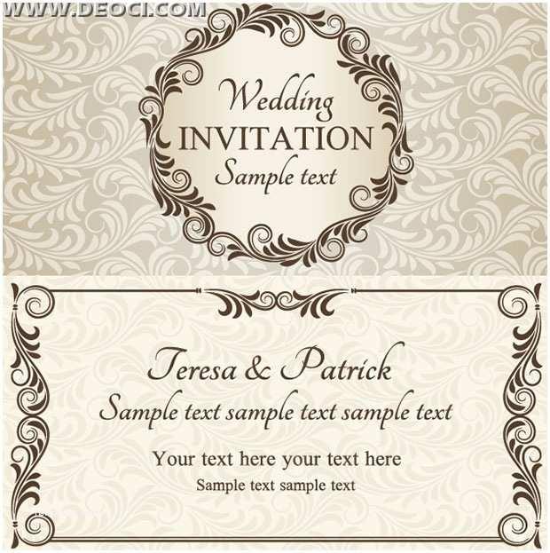 Online Editable Wedding Invitation Cards Free Download Download Invitation Card Design Yourweek