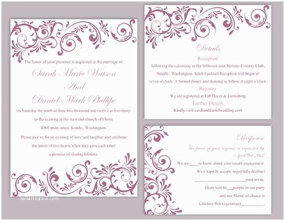 Online Editable Wedding Invitation Cards Free Download Editable Wedding Invitation Free Download Yaseen