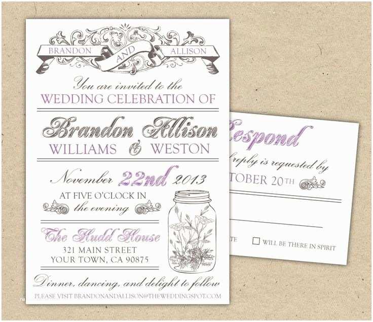 Online Editable Wedding Invitation Cards Free  Wedding Invitations Templates Free