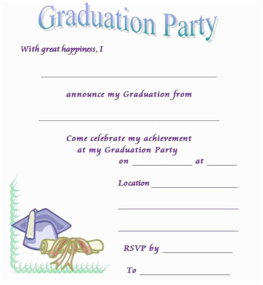 Online Graduation Invitations 40 Free Graduation Invitation Templates Template Lab