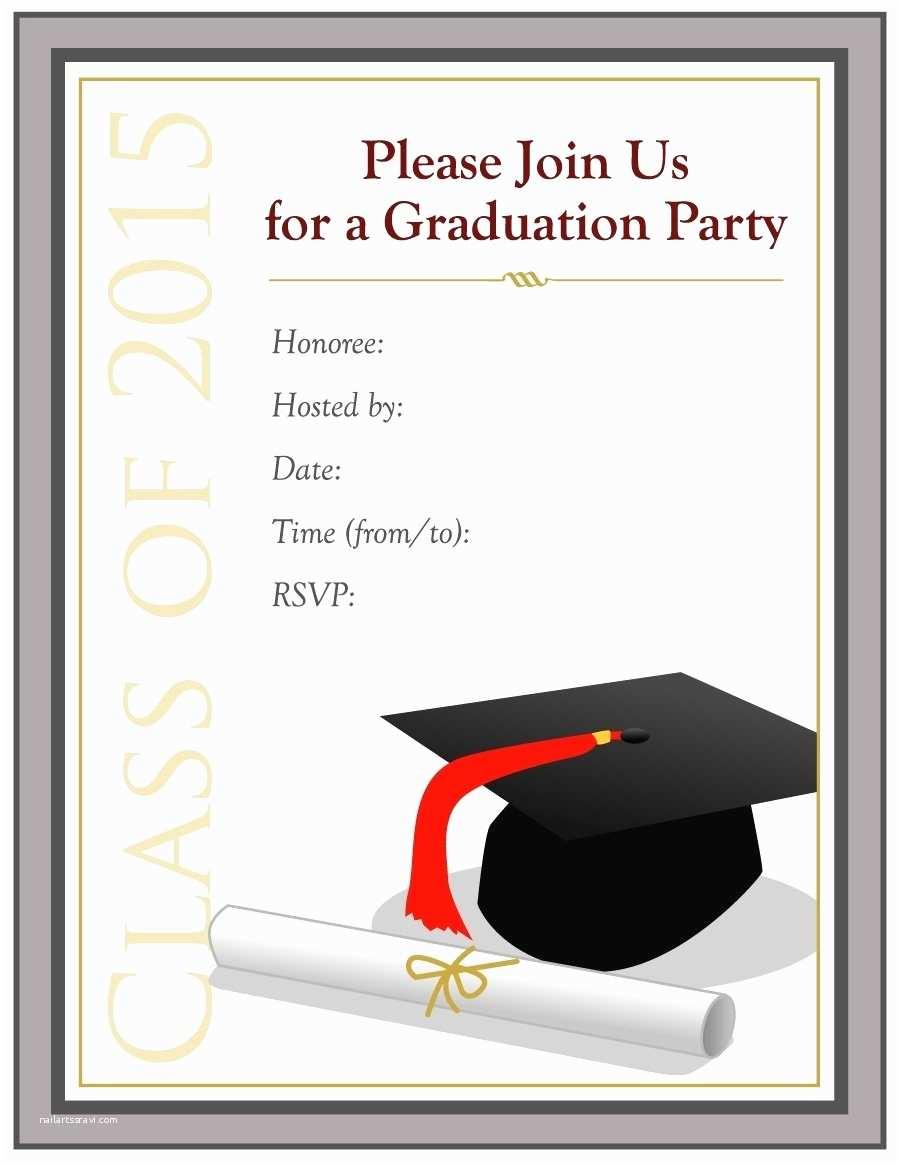 Online Graduation Invitations Free Graduation Invitation Templates Beepmunk