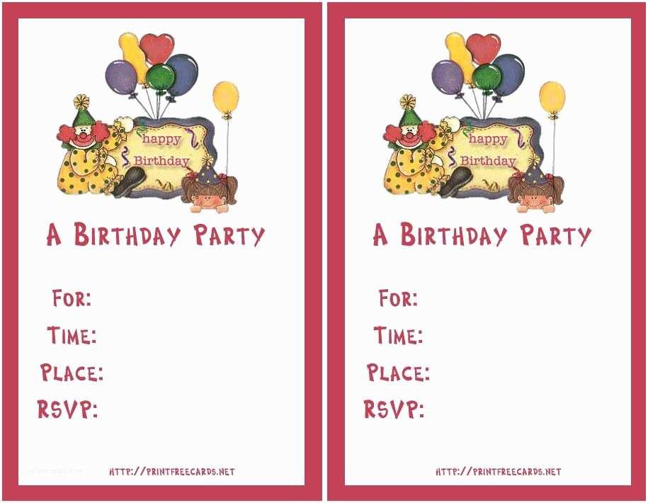 Online Party Invitations Birthday Invitation Maker