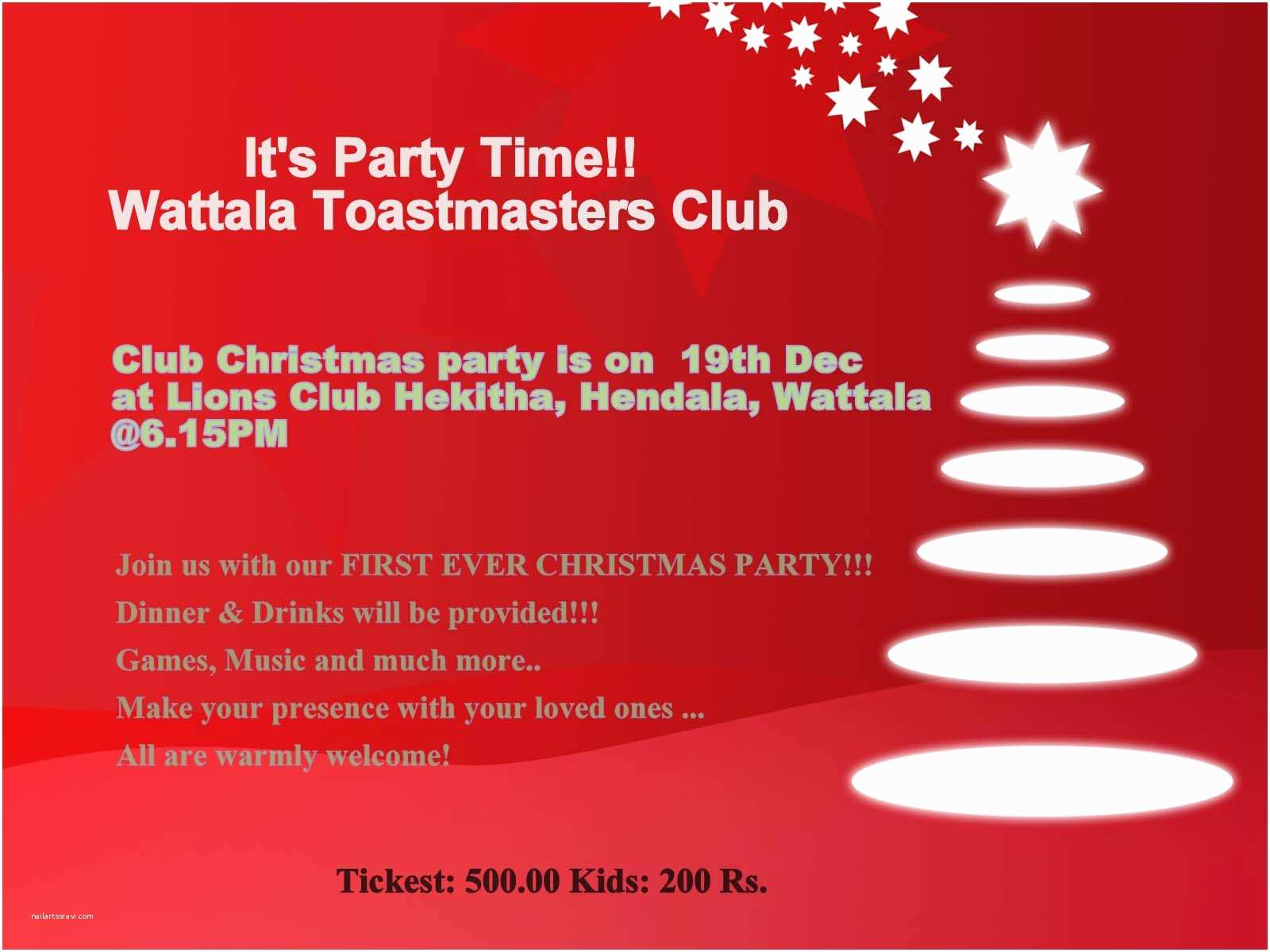 Online Party Invitations Christmas Party Invitation Line