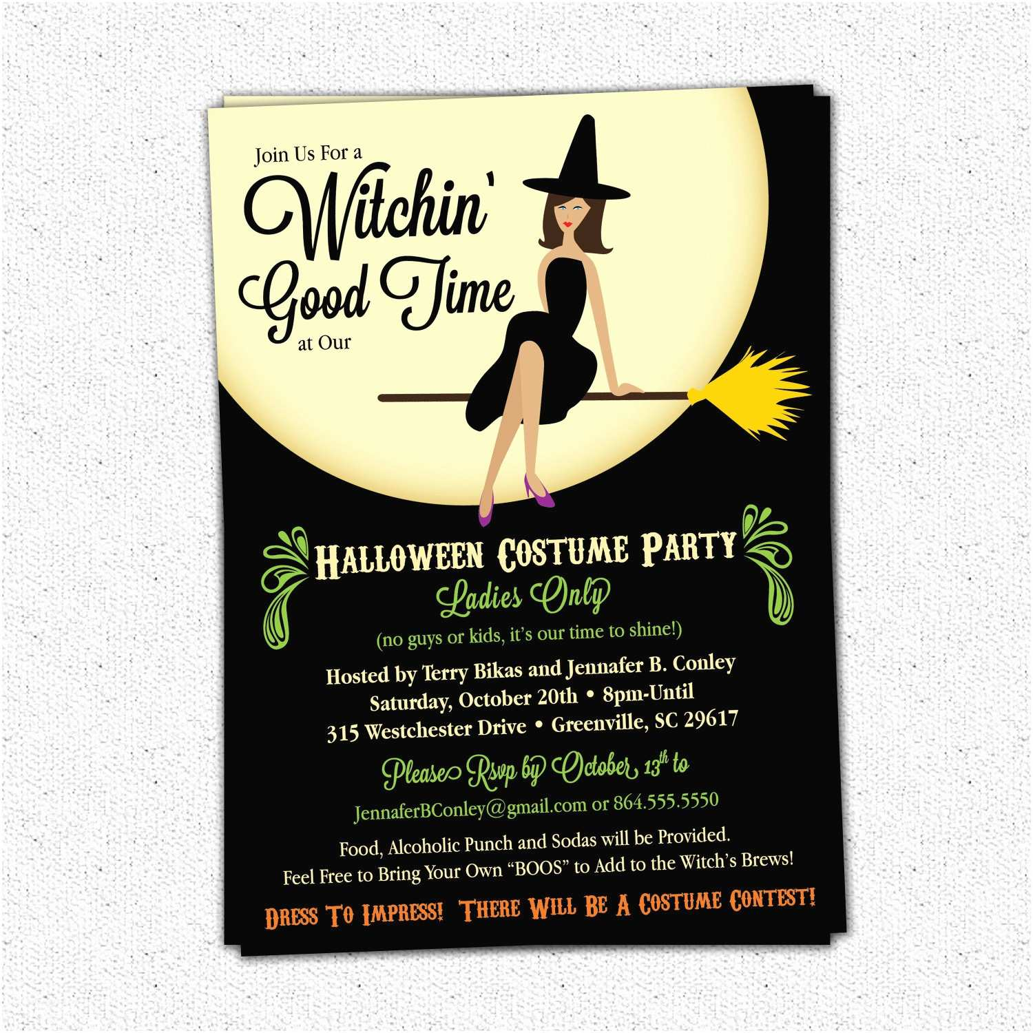 Online Party Invitations Line Halloween Invitations – Festival Collections