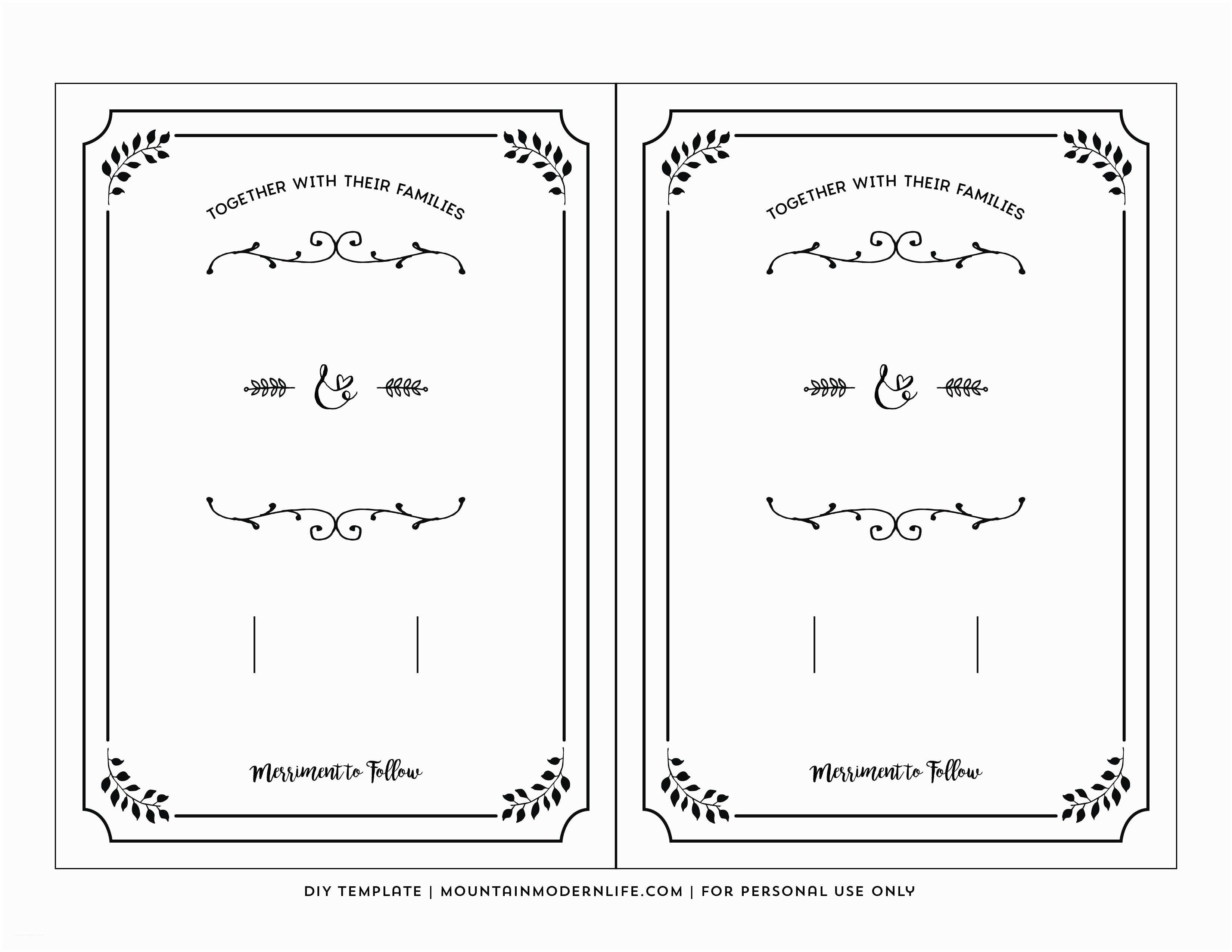 printable wedding invite templates 848