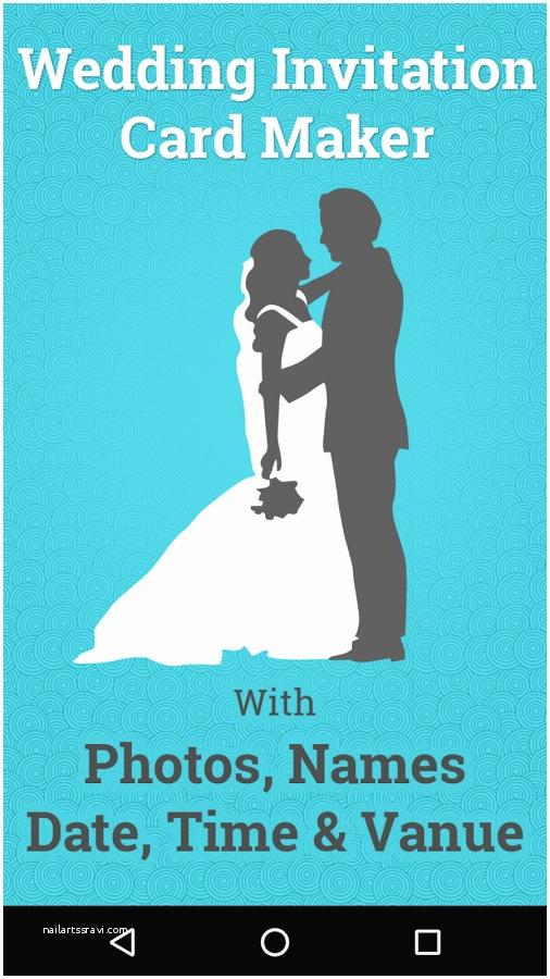 Online Wedding Invitation Card Maker Awesome Wedding Invitation Card Maker Free Line