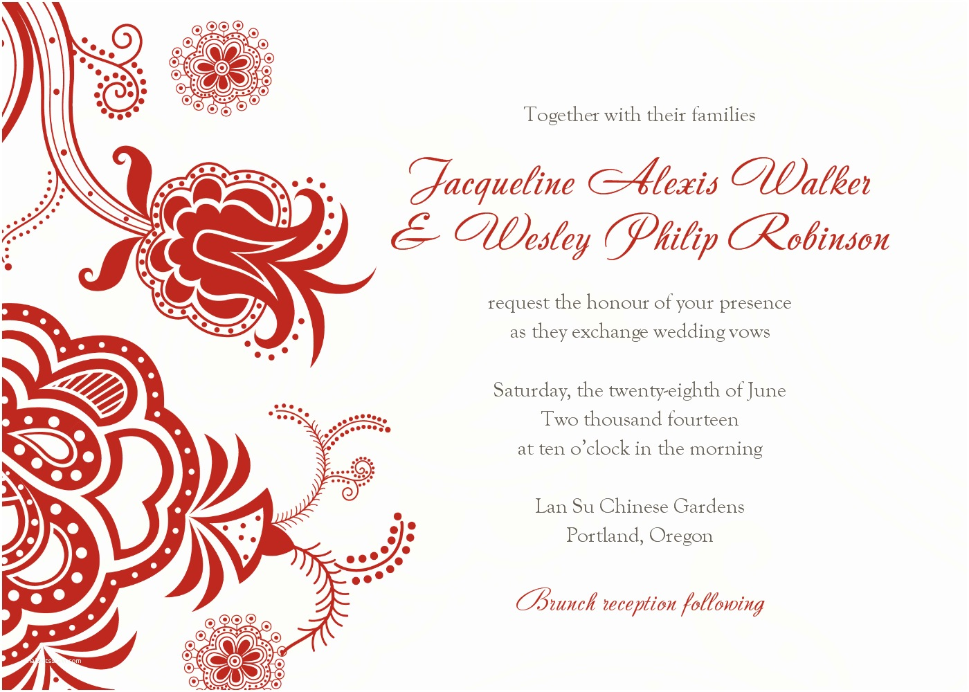 online wedding invitation free download wedding invite templates