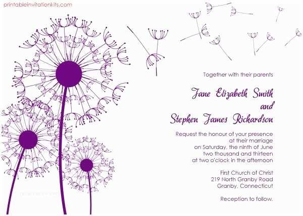 Online Wedding Invitation Free Download Free Printable Wedding Invitations Templates