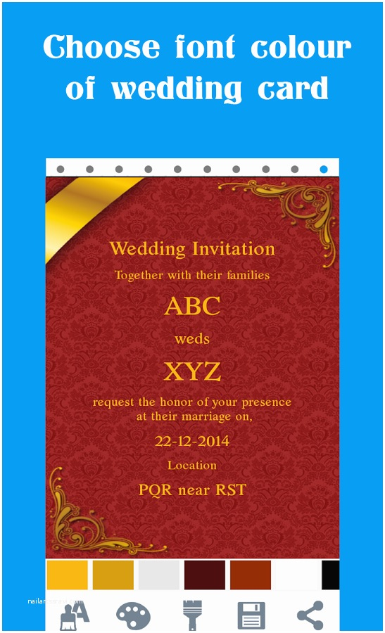 Online Wedding Invitation Maker Free Wedding Invitation