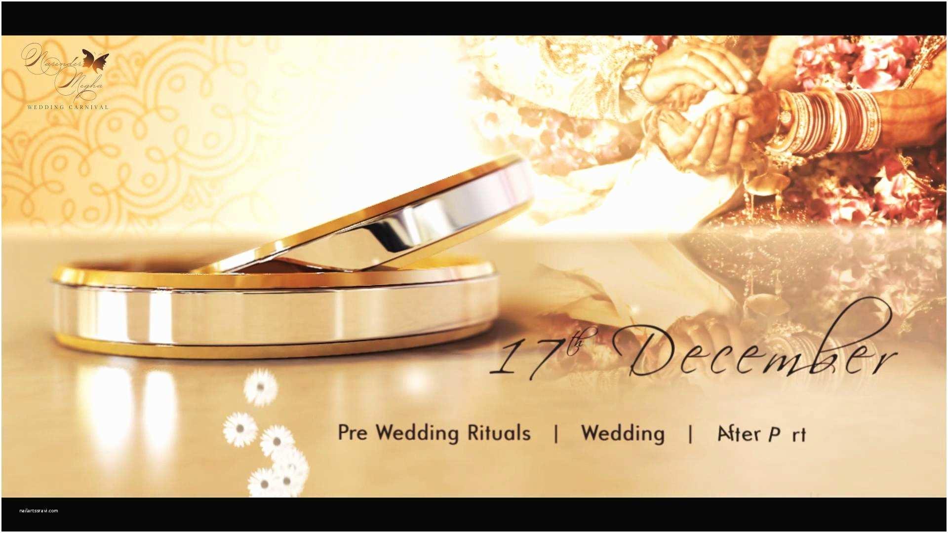 Online Wedding Invitation Maker Wedding Invitation Video Maker Line