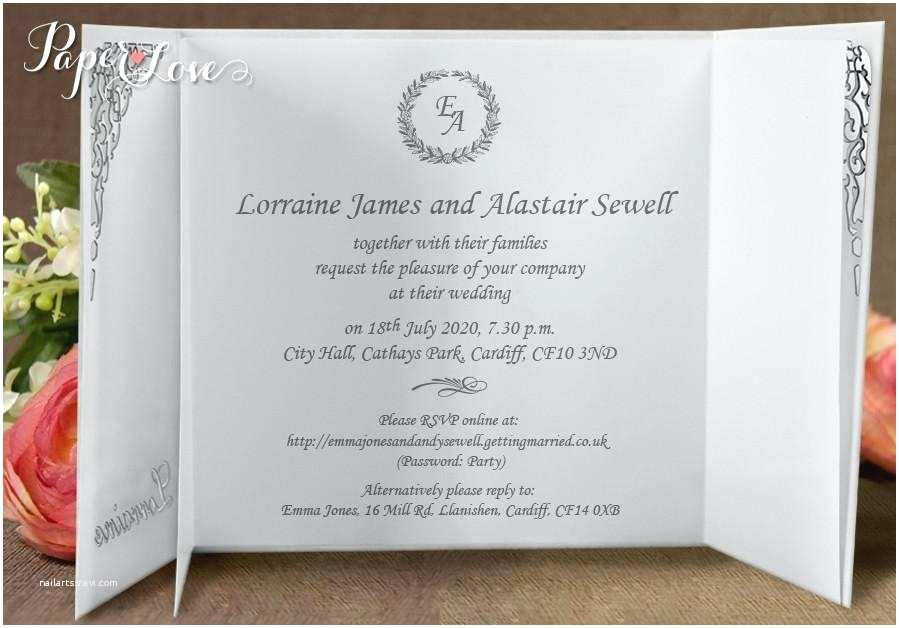 Online Wedding Invitations Uk Home Improvement Personalised Wedding Invitations Uk