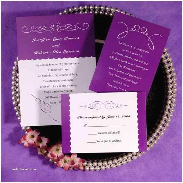 Orchid Wedding Invitation Kits 30 Elegant and Pretty Wedding Invitations Funpulp