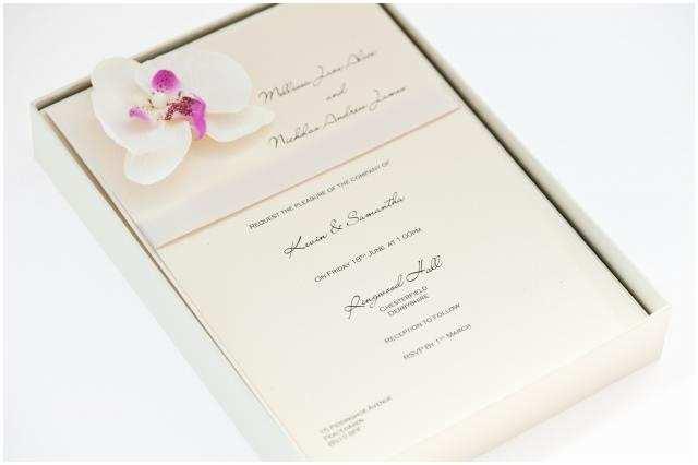 Orchid Wedding Invitations Impressive orchid Wedding Invitations