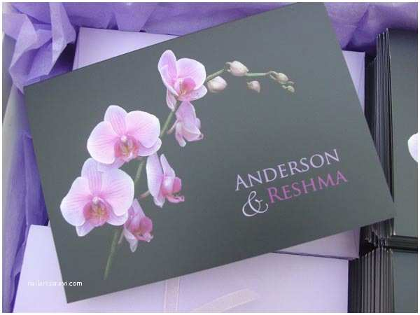 Orchid  Invitations Portia S Blog My Clients Decided To Have A Korean