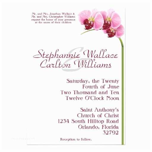 Orchid Wedding S Purple Orchid Wedding