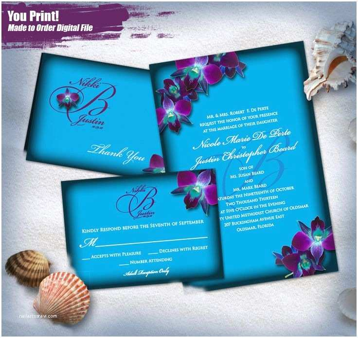 Orchid Wedding Invitations The 25 Best Orchid Wedding Invitation Sets Ideas