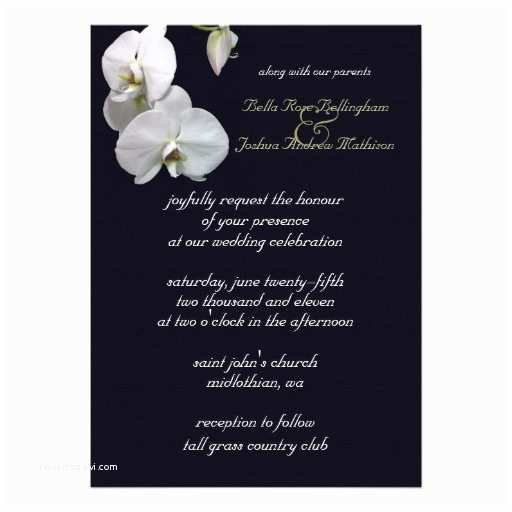 Orchid Wedding S White Orchid Wedding
