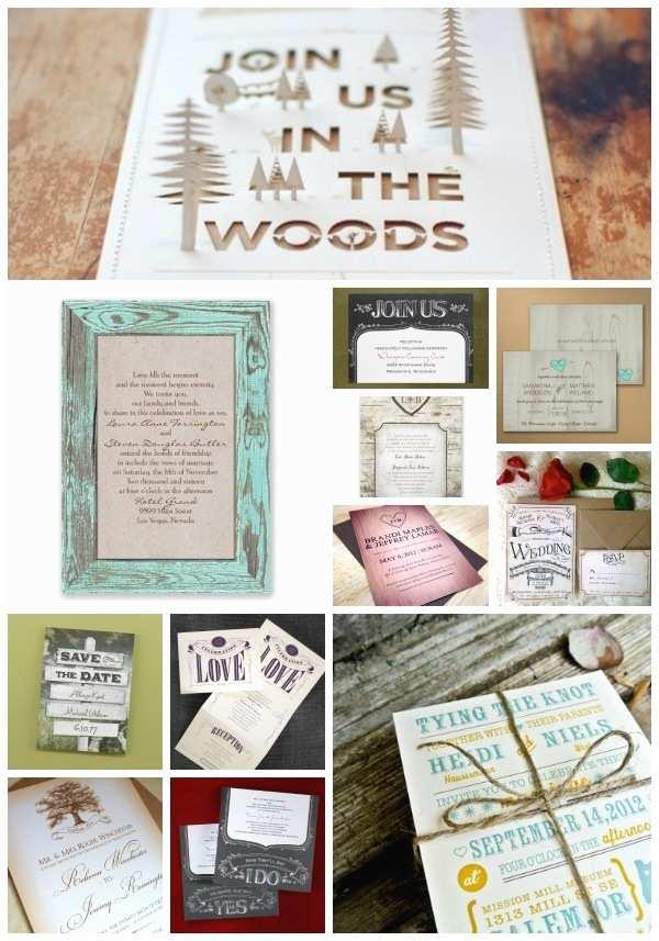 Outdoor Wedding Invitations Rustic Outdoor Wedding Invitations Ideas & Inspiration