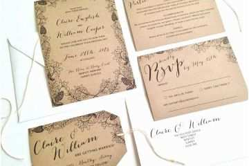 Outdoor Wedding Invitations Stunning Garden Invitation