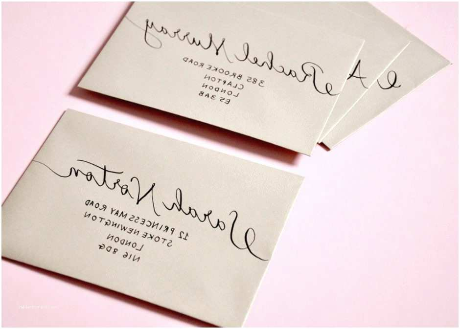Outer Envelopes for Wedding Invitations Addressing Wedding Invitations Outer Envelope Ly Idea 5