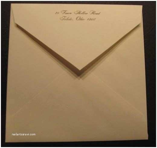 Outer Envelopes for Wedding Invitations How to Stuff Wedding Invitations