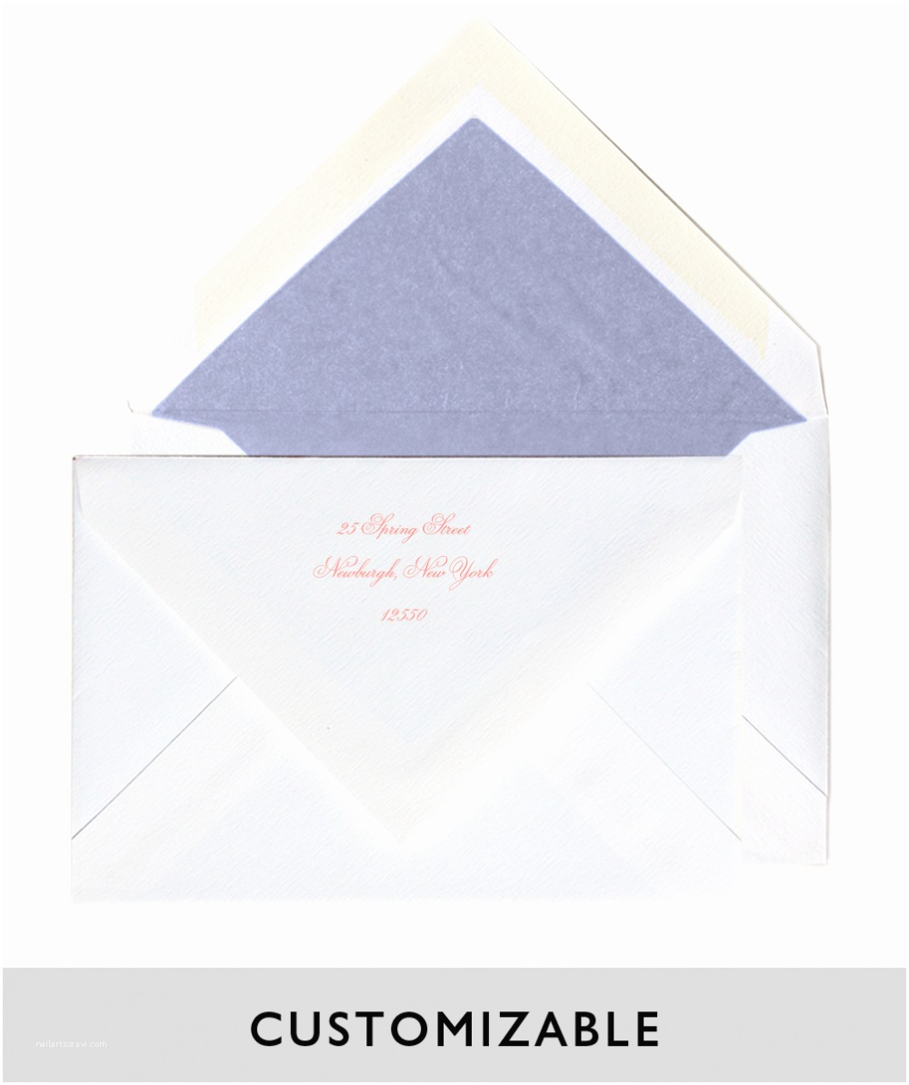 Outer Envelopes for Wedding Invitations Wedding Invitation Outer Envelope Return Address Yaseen