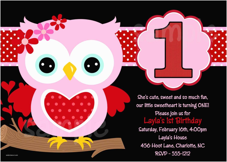 Owl Birthday Invitations Owl 1st Birthday Invitations Ideas – Bagvania Free
