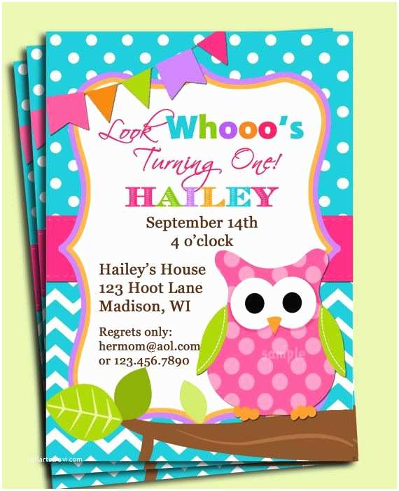 Owl Invitations for Baby Shower 25 Best Owl Birthday Invitations Ideas On Pinterest