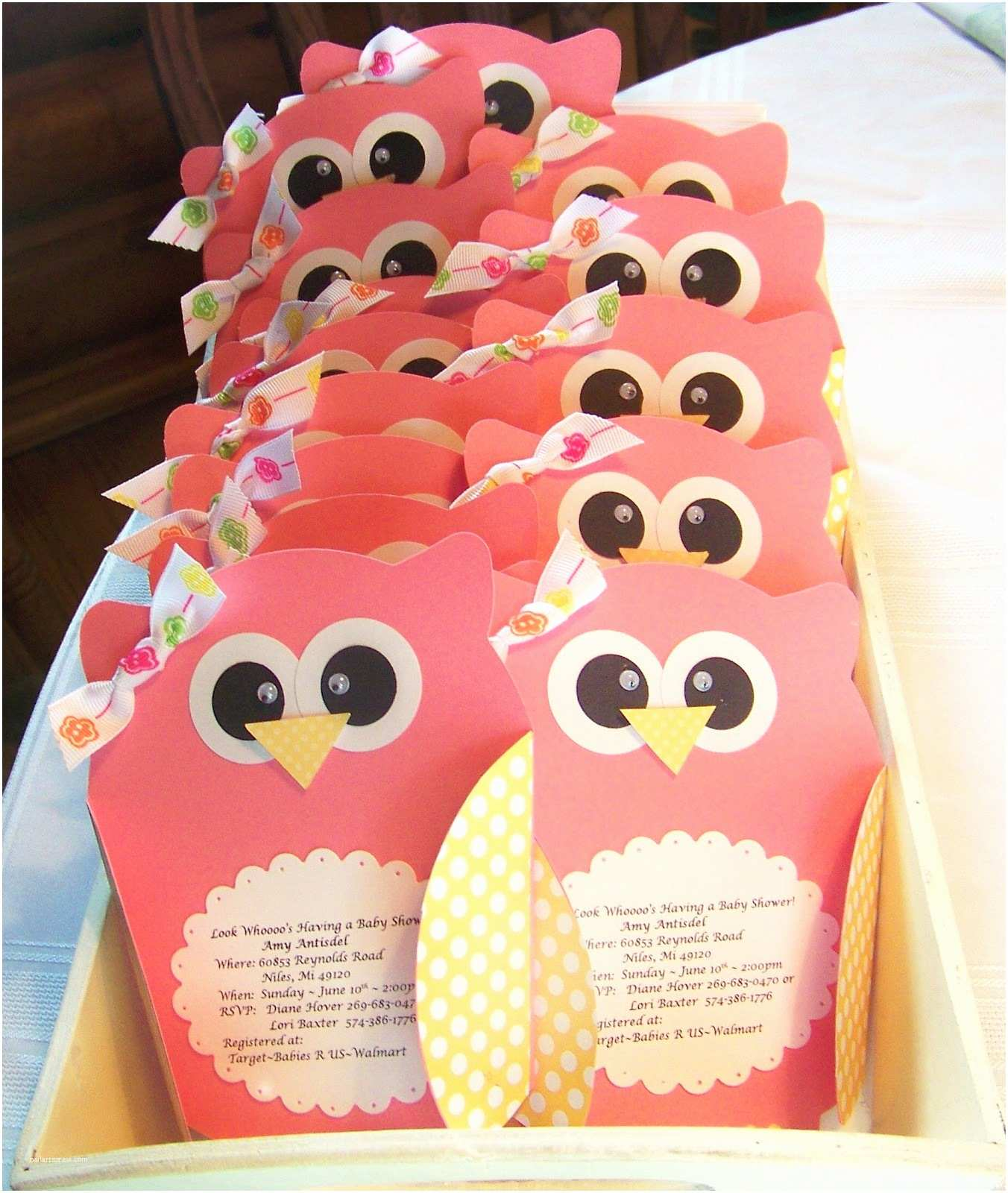 Owl Invitations for Baby Shower Owl Baby Shower Invitations Baby Shower Decoration Ideas