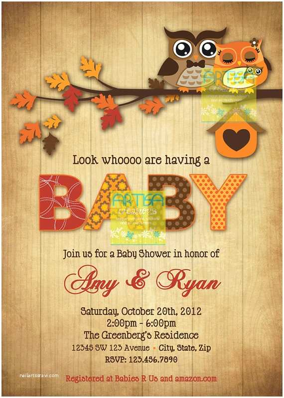 awe inspiring fall baby shower invitations pumpkin design