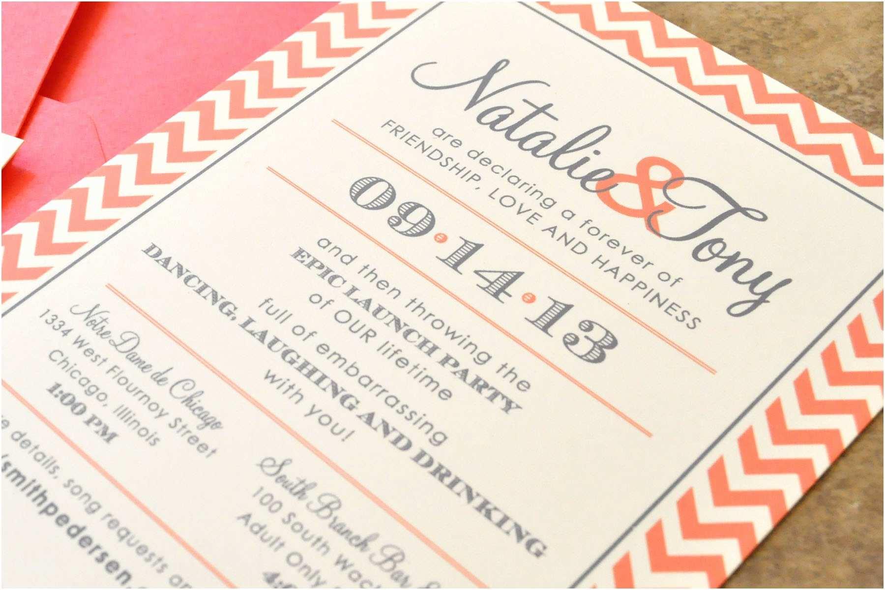 Page Wedding Invitations Wedding Invitations Square Pattern orange Borders Black