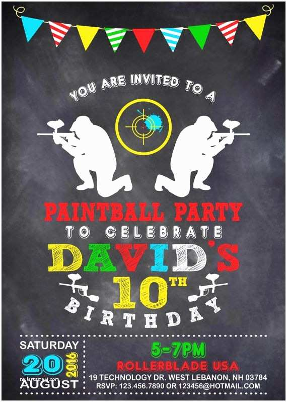 Paintball Party Invitations Best 25 Paintball Party Ideas On Pinterest