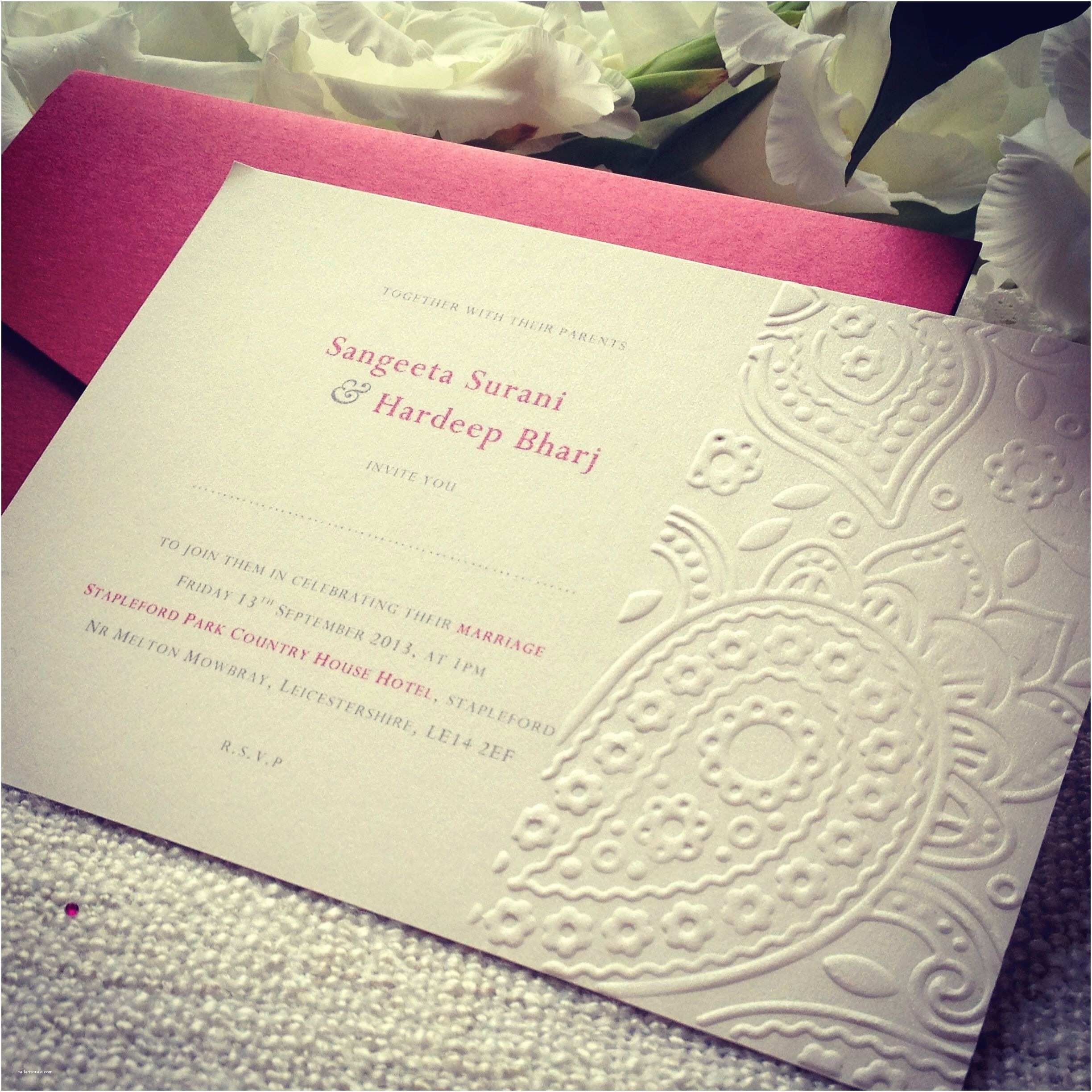 Paisley Wedding Invitation Template Ethnic
