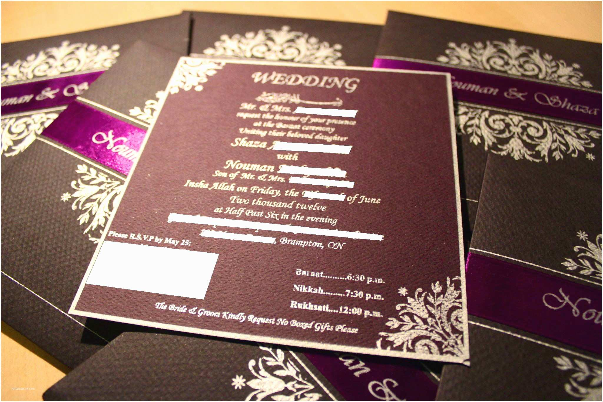 Pakistani Wedding Invitations Usa Mind Blowing Pakistani Wedding Invitations