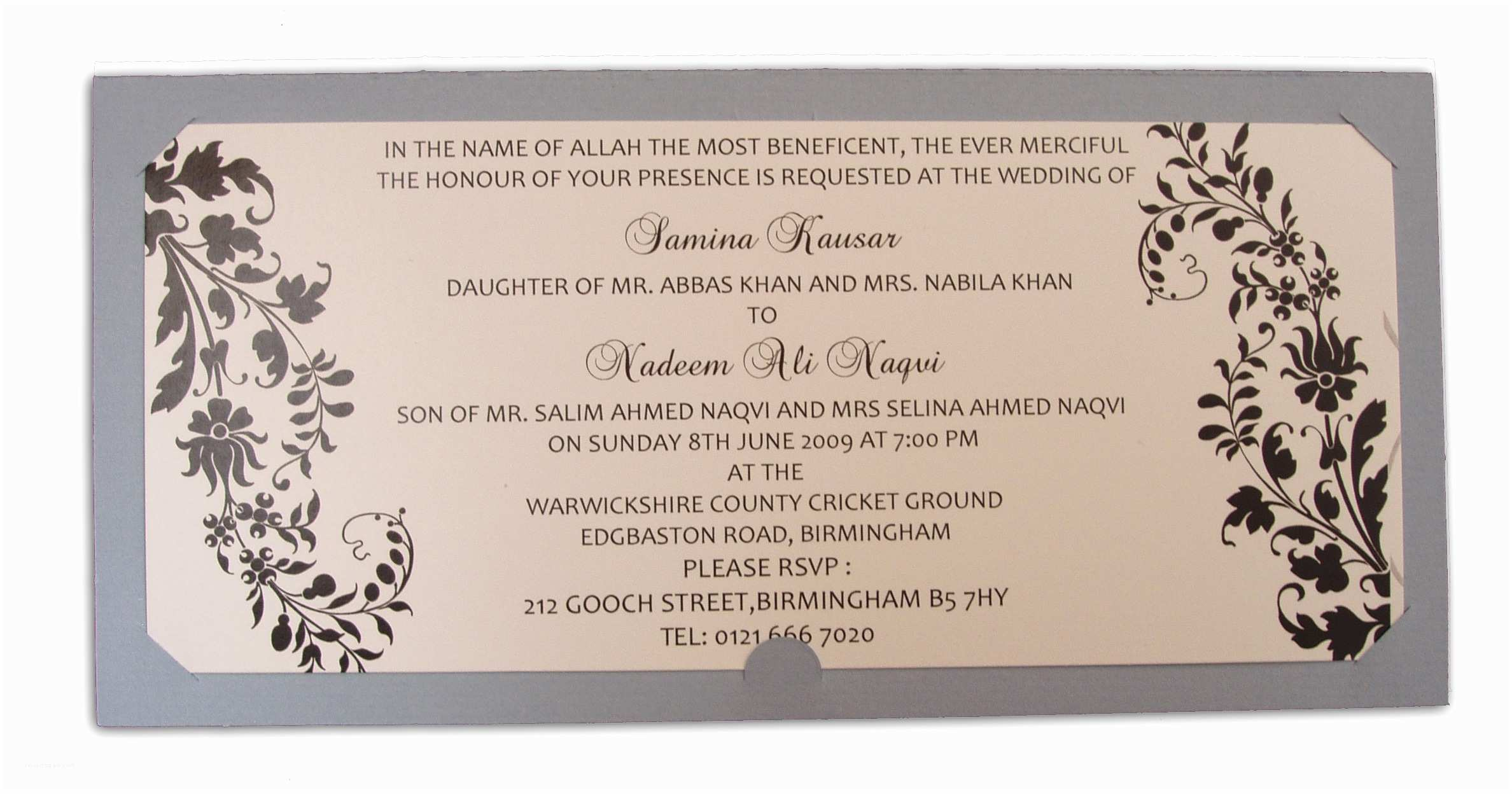 Pakistani Wedding Invitations Usa Pakistani Wedding Invitations Sansalvaje